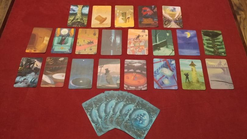 Mysterium Clue Cards